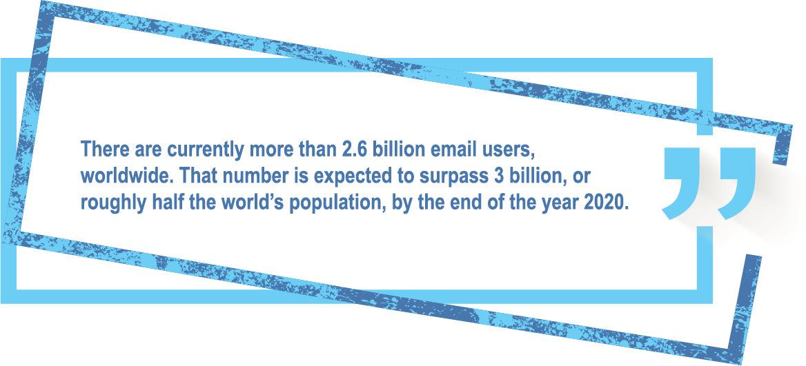 How many people use email? | Rhino Digital Media